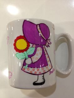 Caneca de Porcelana Camponesa