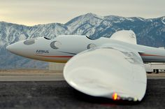 The Perlan 2 glider.  Credit:  Airbus Perlan Mission II - stratospheric flight research glider