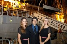 Cocktail reception on board of Spanish Navy training ship Juan Sebastián de Elcano, on May 2, 2013, at Bicentennial Park, Miami.