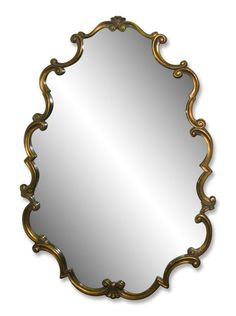 Rococo style modern wood framed mirror: Architectural Salvage Online Store, Buy Altered Antiques | OGTstore.com
