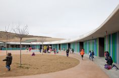 Centro de Educación Infantil en la Ecociudad Valdespartera.