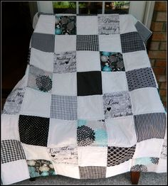 Custom Made Vin Du Jour Signature Quilt, Wedding, Baby Shower ... : wedding signature quilt - Adamdwight.com