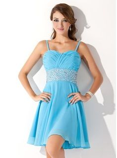 Homecoming Dresses - $124.99 - A-Line/Princess Sweetheart Short/Mini Chiffon Homecoming Dress With Ruffle Beading  http://www.dressfirst.com/A-Line-Princess-Sweetheart-Short-Mini-Chiffon-Homecoming-Dress-With-Ruffle-Beading-022010605-g10605