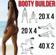 Why Your Butt Workout Isn't Giving You A Killer Booty? Working out your butt can be difficult, especially for women, because the hips and upper legs are common areas for body fat storage, which can make it tough to see the muscle you might be developing.