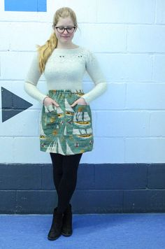 Lexy's Dominique Skirt - sewing pattern from Tilly and the Buttons