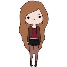 "Képtalálat a következőre: ""Oblyvian girls"" Cute Easy Drawings, Colorful Drawings, Amazing Drawings, Kawaii Girl Drawings, Cute Girl Drawing, Cute Pictures To Draw, Cute Images, Cute Kawaii Girl, Cute Cartoon Girl"