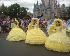 Azalea Trail Maids in Disney World! I was the Happiest Princess in the world that day!