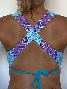 Amazing bikini top pattern, ready to download on PDF file. YT tutorial on how to sew it, available on our YT channel!