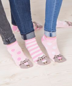 Pusheen Sweets 3-pack ankle socks – Hey Chickadee