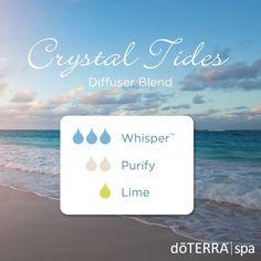Crystal Tides doTERRA Diffuser Blend
