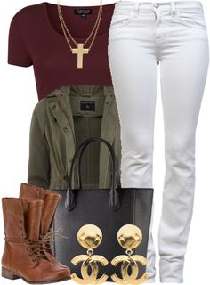 A fashion look from May 2013 featuring cotton short sleeve shirts, short parka jacket and medium rise jeans. Browse and shop related looks. Teen Fashion, Love Fashion, Fashion Outfits, Womens Fashion, Fall Winter Outfits, Autumn Winter Fashion, Dope Outfits, Casual Outfits, Swag Outfits