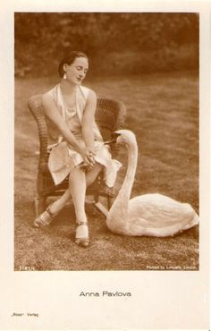 Anna Pavlova, ballerina of the Dying Swan