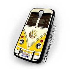 Retro yelow Volkswagen VW mini bus samsung galaxy s4 i9500 case cover US $16.89