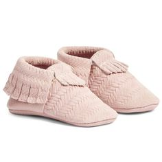 Pink Woven Leather B
