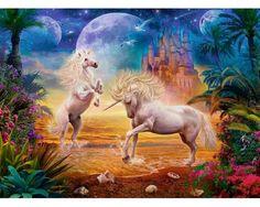 Puzzle Ravensburger Unicornios Mágicos de 500 Piezas