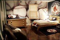 ideas for a kids baseball room