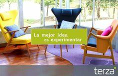 La mejor idea es #EXPERIMENTAR #MD #Marrón