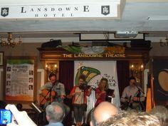 Landsdowne Hotel Theatre - Irish music - Dublin, Ireland