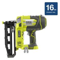 Ryobi, 18-Volt ONE+ AirStrike 16GA Cordless Straight Finish Nailer (Tool Only), P325 at The Home Depot - Mobile