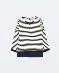 Image 6 de TOP RAYURES COLLIER ASSORTI de Zara