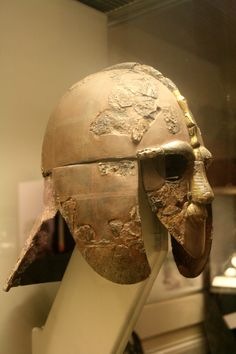 Original Sutton Hoo Helmet