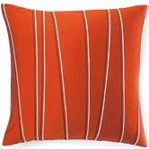 Found it at AllModern - Diagonal Poly Square Pillow in Orange