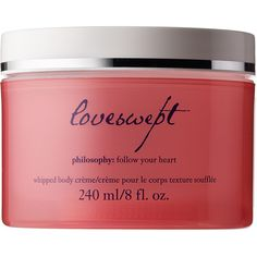 philosophy Loveswept Whipped Body Crème ($33) ❤ liked on Polyvore featuring beauty products, bath & body products, body moisturizers and body moisturizer