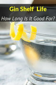Here's what you need to know about shelf life of gin #gin #fitibility #alcohol Food Shelf Life, Food Spoilage, Gin Tasting, Best Gin, The Last Drop, Gin Bottles, Alcohol Content, Natural Preservatives, Gin And Tonic
