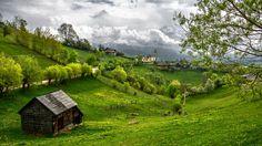 Romania Transylvania Mountains Grass Summer  #Grass #Mountains #Romania #Summer #Transylvania