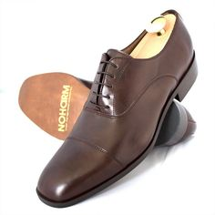 Brown Vegan shoes for men, classy, but still pretending to be leather