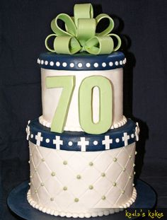 70th Birthday Cake Event Planning Party Desserts Ideas