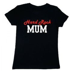 T-shirt damski - Hard Rock Mum z FamilyInBlack.pl