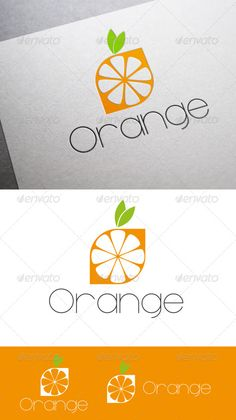 Logo Orange  #GraphicRiver         Logo Orange, logotype minimalist, a logotype perfect for marks drinks or topics food.  	 The download included: A logotype with an variation. Fully layered and fully resizable. Color profile: CMYK ready for print. Formats: .ai (Adobe Illustrator), .eps, .psd and .pdf. Font used: Majoram Serif free  .dafont /es/majoram-serif.font  	      Created: 15May13 GraphicsFilesIncluded: VectorEPS #AIIllustrator Layered: Yes MinimumAdobeCSVersion: CS Resolution…