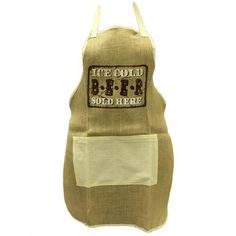 Soft Jute Apron - Beer