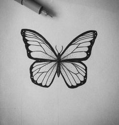Tattoo Butterfly Dotwork Art 46+ New Ideas #tattoo