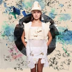 Petra Ptackova Petra, Lace Skirt, Ballet Skirt, Black And White, Skirts, Clothes, Samurai, Design, Modern