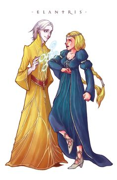 Elantris by BotanicaXu -- this is a cute picture :D