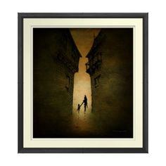 Alleyway Print by Paul Stickland for StrangeStore on Zazzle