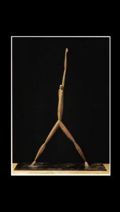 "Axel Cassel - "" Figure au Bras Levé "", 1993 - Bronze - Height : 63 cm"