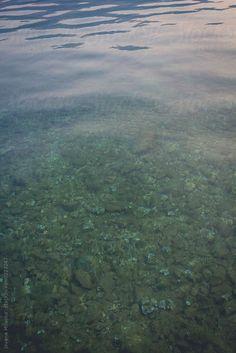 Calm sea surface by Jovana Milanko