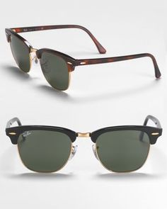 Ray Ban Small Classic Clubmaster   - No 1 auf meinem Sommer-Wunschzettel
