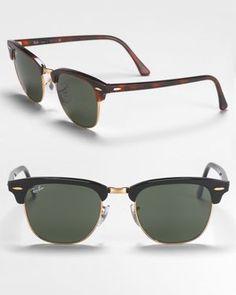 Small Classic Clubmaster Sunglasses