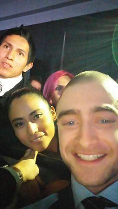 ¡Selfie con Daniel Radcliffe! *o*