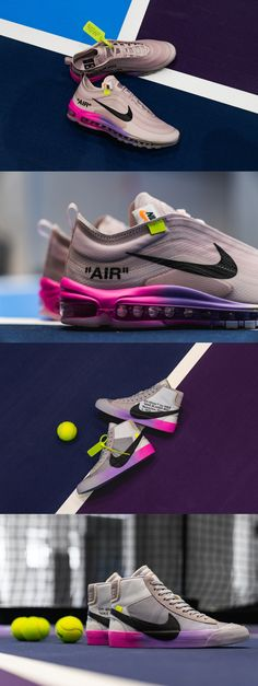 san francisco 111b3 6ecf9 Serena Williams x OFF WHITE x Nike Blazer and Air Max 97