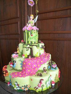 #TinkerBellCake #DisneyCakes