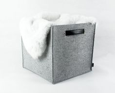 FOR Maria Storage box household genuine leather by Filzkraft, $43.00
