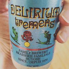 Ein Bier wie LSD. #beer #belgium #deliriumtremens #belgien #bier #strongbeer #starkbier #indianstyle #nodrugsneeded #huyghe #crocodile #krokodil #dragon #belgischesbier #belgiumbeer #cheers #prost