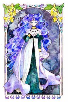 Queen Nehelenia by リイナ  | Sailor Moon