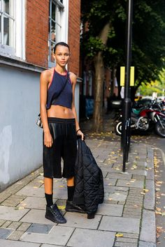 Binx Walton #LFW SS16 #streetstyle #model