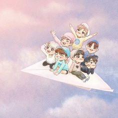 ;; [FANART] this is too cute ©abmimabima #GOT7 #IGOT7 #니가하 #JYP
